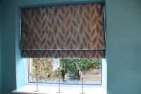 Bespoke Ashley Wilde Roman Blind
